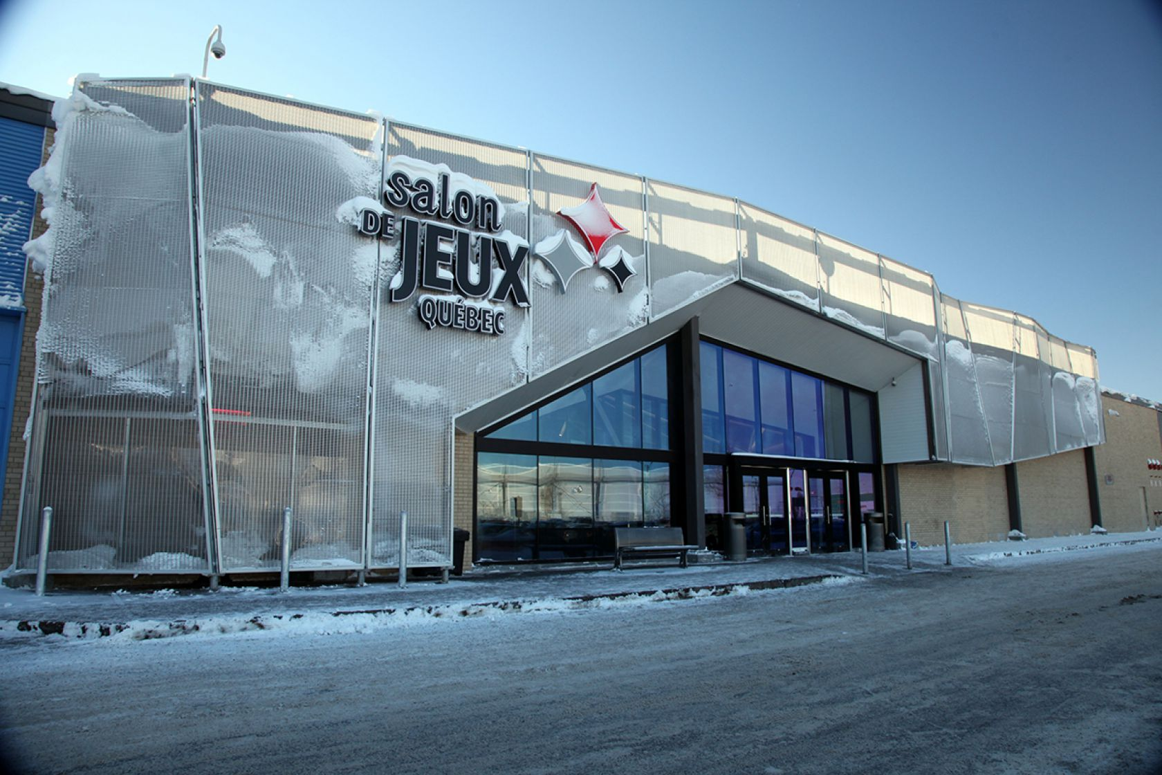 Salon de jeux de qu bec r alisations claude miville inc for Salon de the quebec